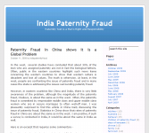 India Paternity FraudThumbnail